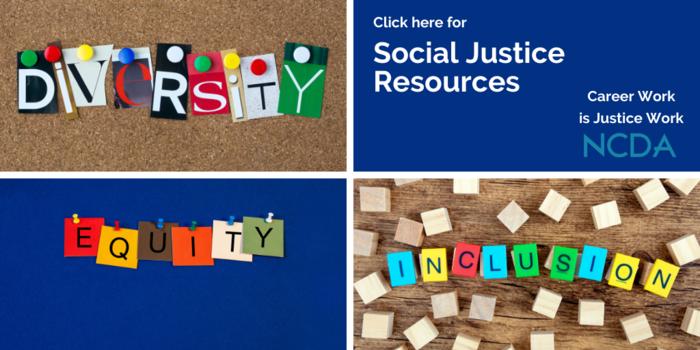 Social Justice webpage image