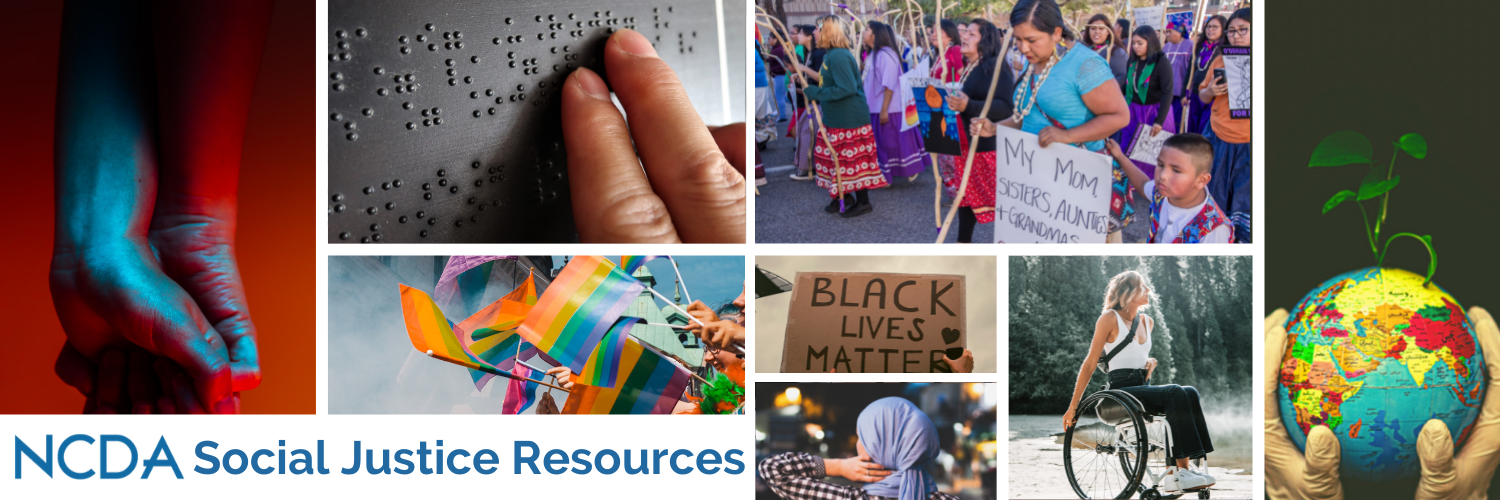NCDA Social Justice Resources