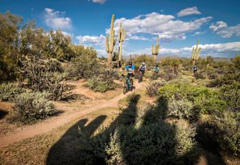 Biking At Mc Dowell Sonoran Preserve S5wm Bv0 Gfd5 Ws Nvs Vega Izn Rgb S