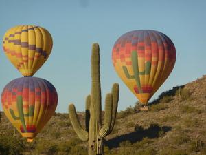 Copyright Visit Phoenix Hot Air Expedition